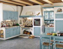 Provence stílusú konyhabelső - a dekoráció és dekoráció fő szempontjai